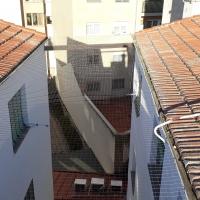 Red protección palomas en patios comunitarios