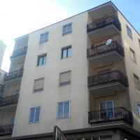 Red protección de balcones en edificio